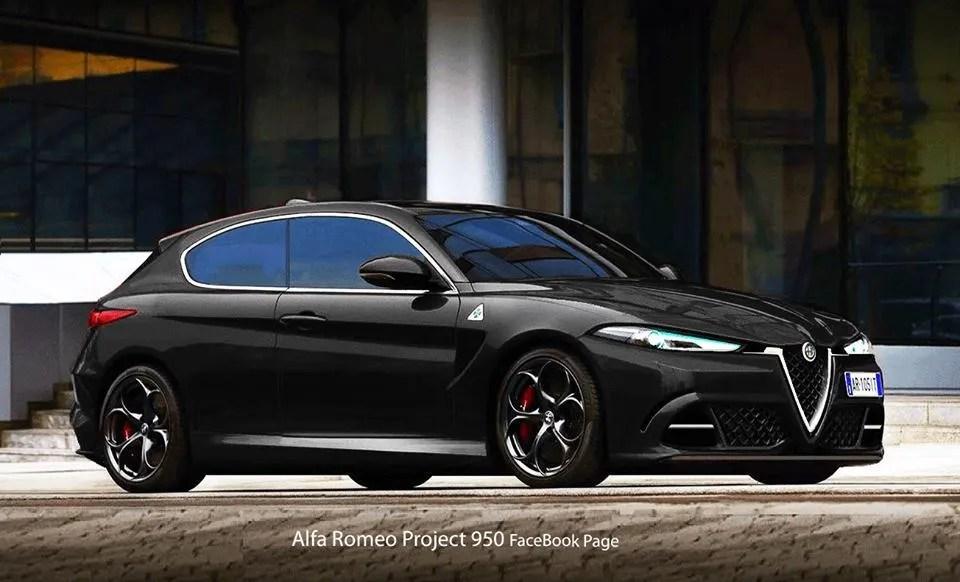 Nova Car Wallpaper Alfa Romeo Giulietta Quadrifoglio Un Render Prova Ad