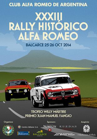 Poster-Rally-AlfaRomeo-balcarce-BAJA