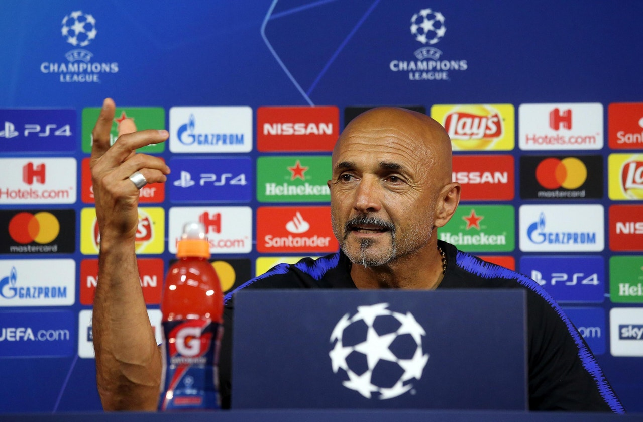 Spalletti Claims Inter Are On 39the Right Path39 After Spurs
