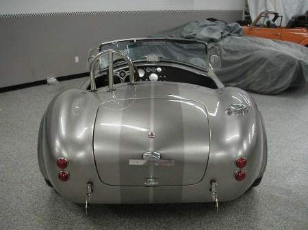 Vintage Motorsports Backdraft Cobra