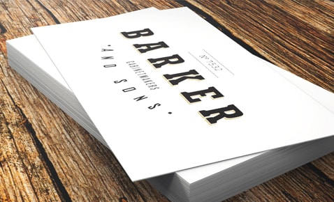Custom Business Cards Printing Professional Quality, Fast Delivery