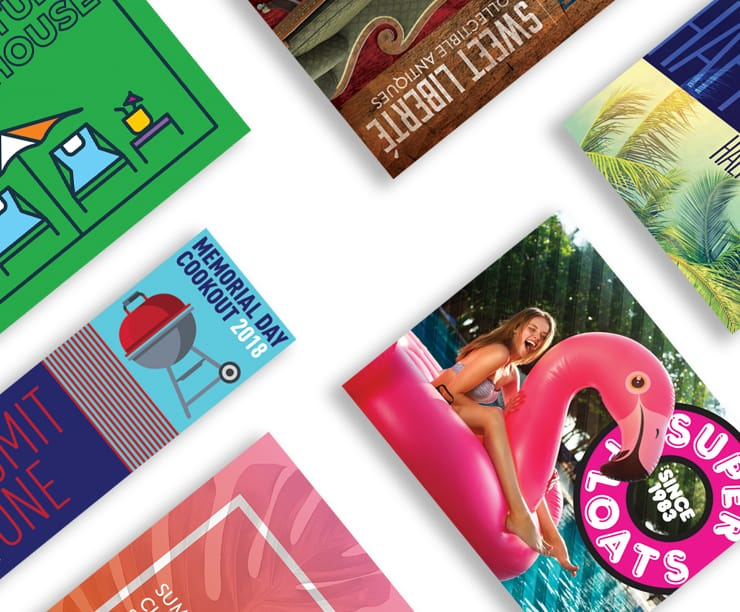 Online Printing Services Print Business Cards, Club Flyers
