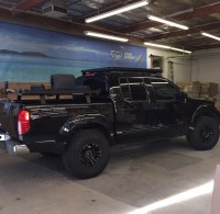 After Market Roof Rack for 2015 Crew Cab - Nissan Frontier ...