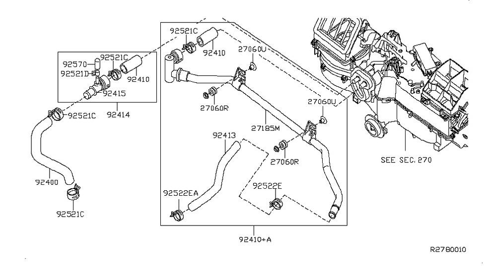 2007 nissan frontier engine diagram