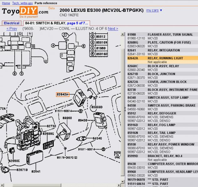 2002 toyota 4runner fuel pump wiring diagram