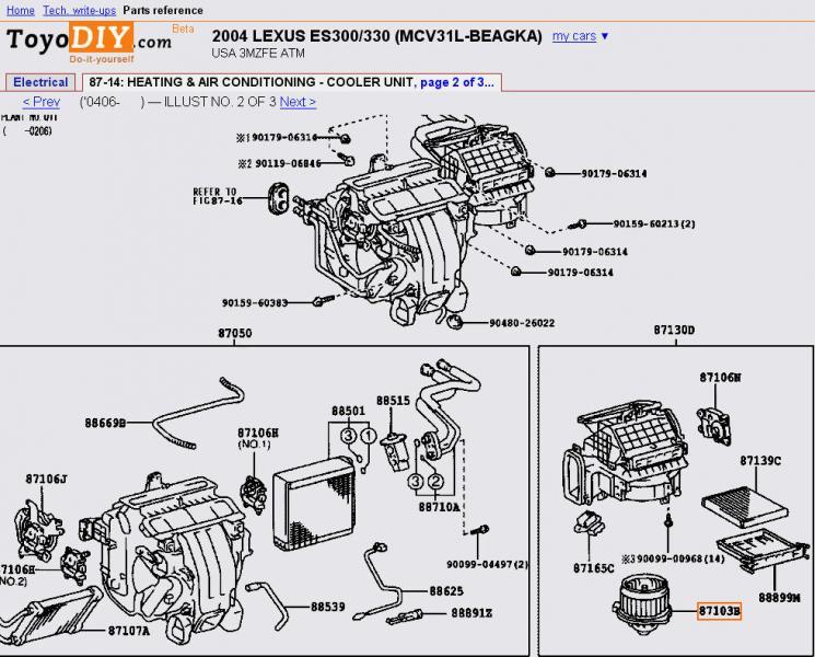 2004 lexus es330 fuse box location