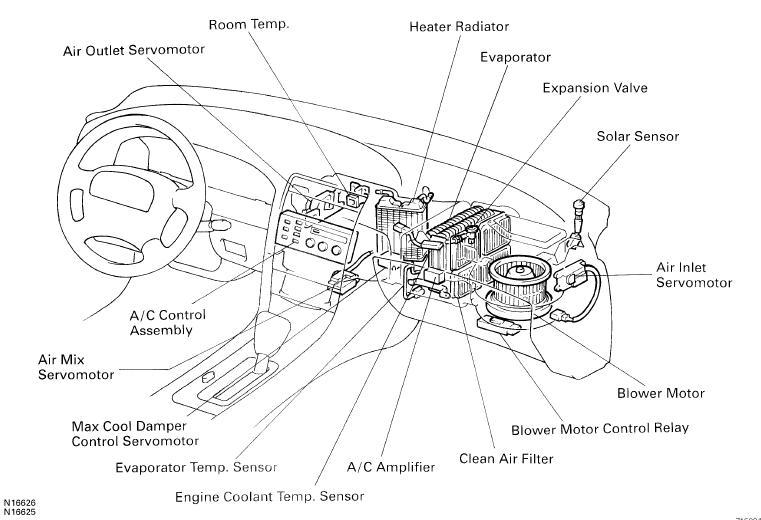 lexus es 350 2007 motor diagram