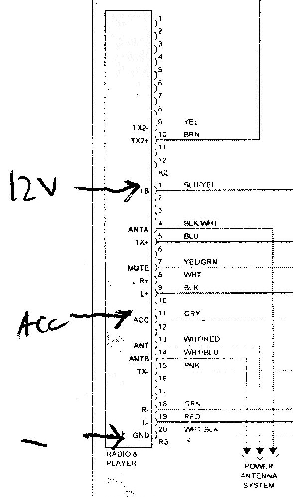 Lexus Stereo Wiring Diagram Schematic Diagram Electronic Schematic