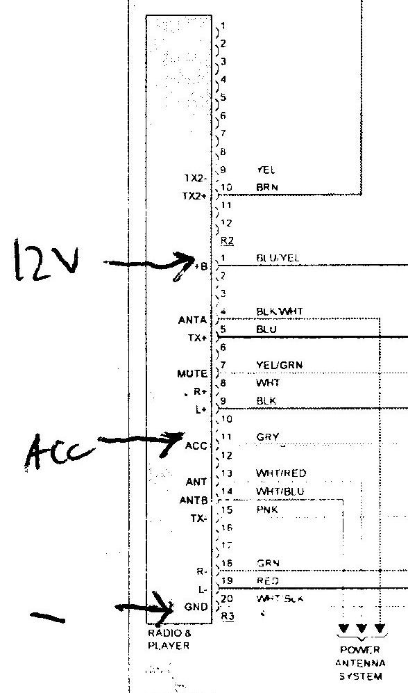 2001 Lexus Is300 Stereo Wiring Diagram Wiring Schematic Diagram