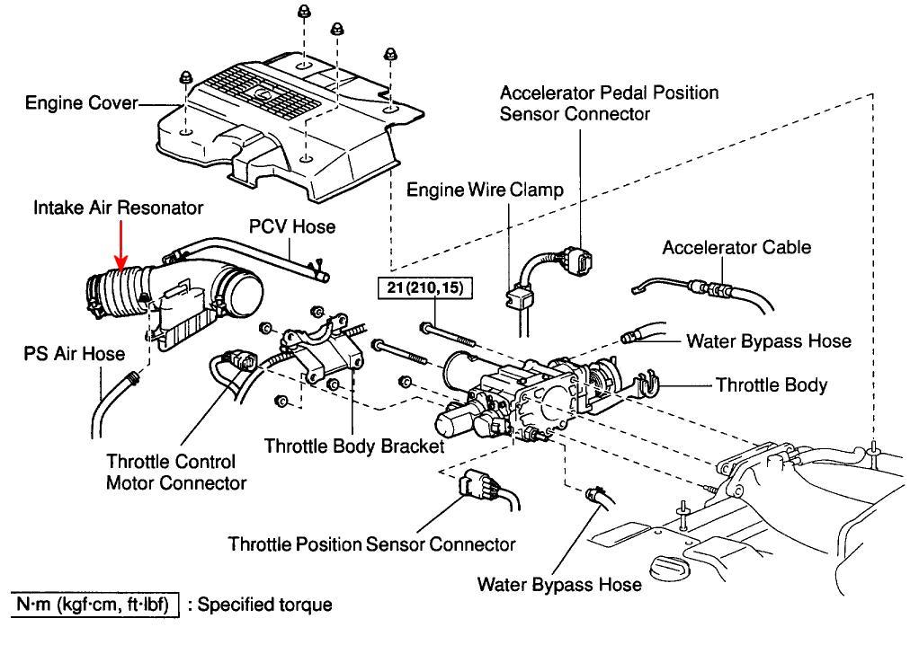 lexus accelerator pedal position sensor