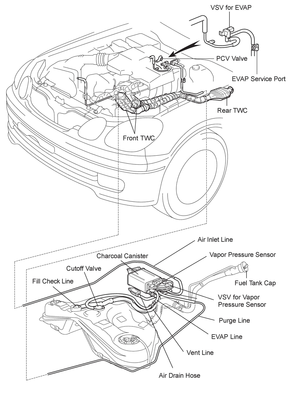lexus gs300 parts diagram
