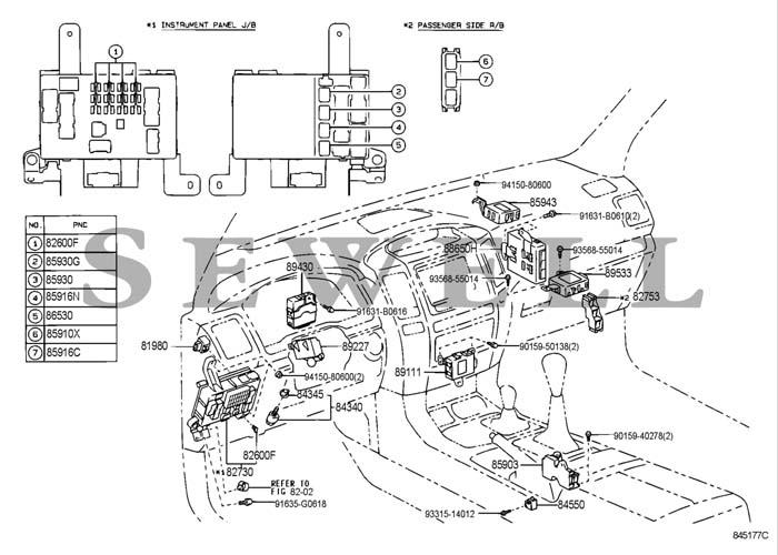 sc300 fuse box