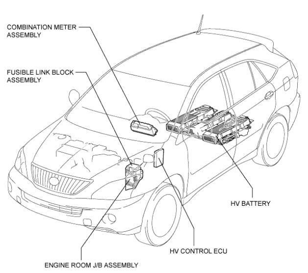 wiring diagram 2006 lexus rx 400h