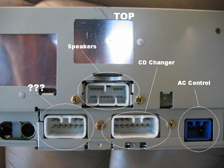 1996 lexus ls400 stereo install wiring info diagrams club