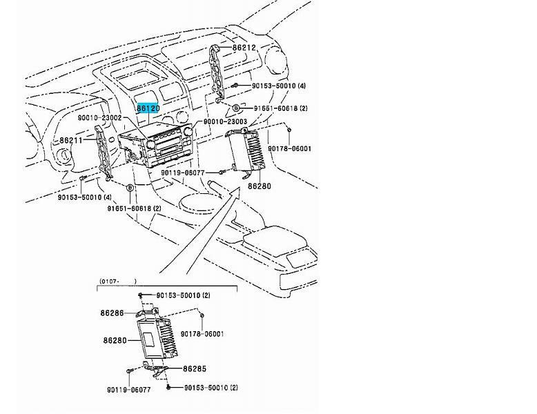 1994 lexus ls400 fuse box location