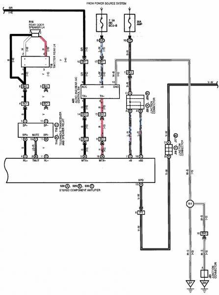 Need Wiring Diagram from Radio Harness - ClubLexus - Lexus Forum