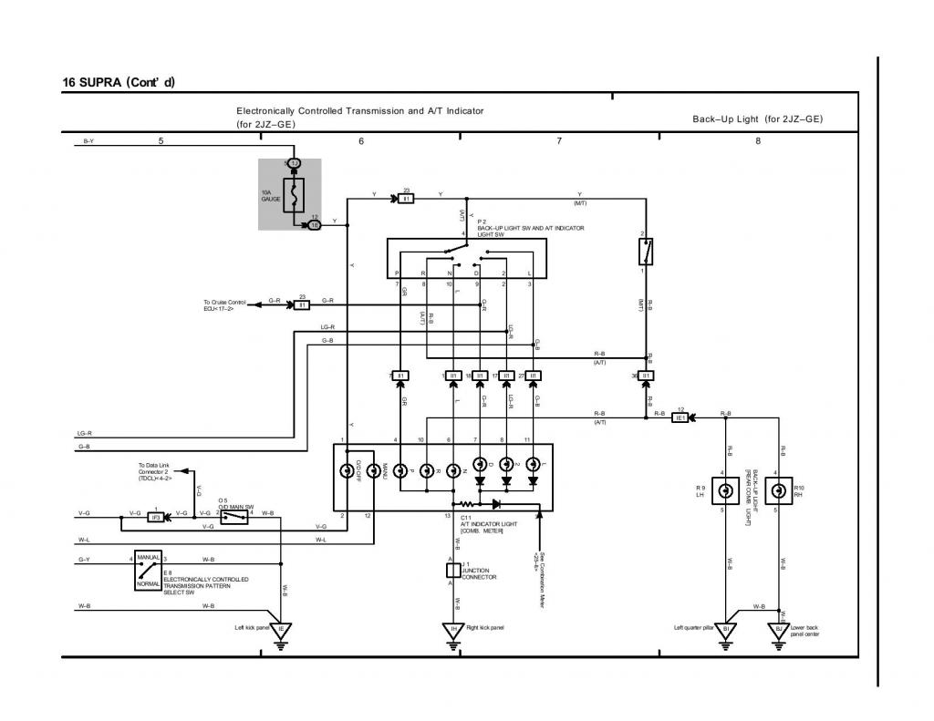 2jz gte wiring harness pin 45b