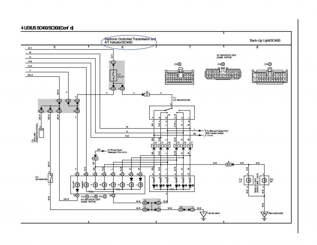 radio wiring diagram lexus es330