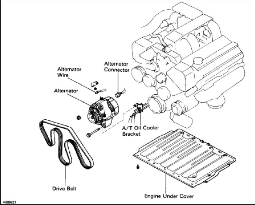 How do I remove the alternator connector?!?!?! - ClubLexus - Lexus
