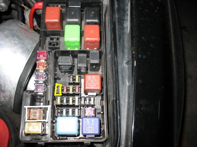 lexus rx fuse box