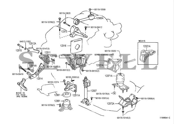 TOYOTA 1MZ FE ENGINE DIAGRAM - Auto Electrical Wiring Diagram