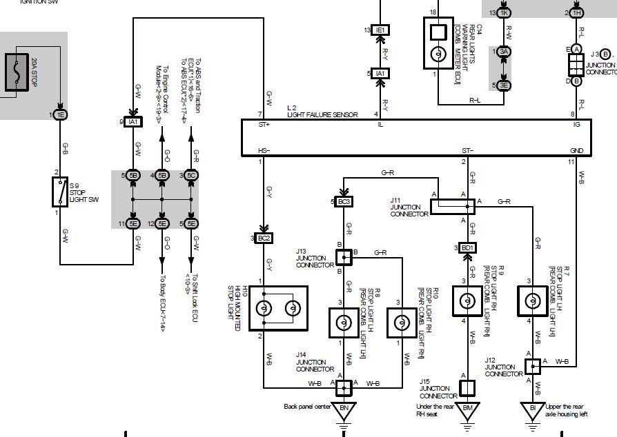 Lexus Rx300 Wiring Power Schematic Online Wiring Diagram