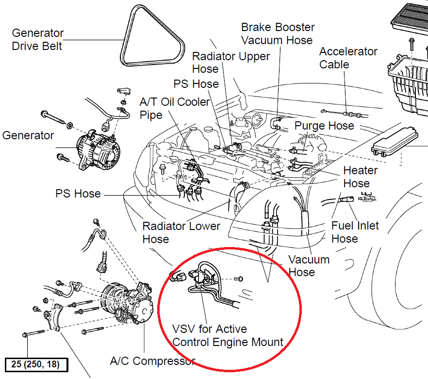 1999 lexus gs300 engine diagram