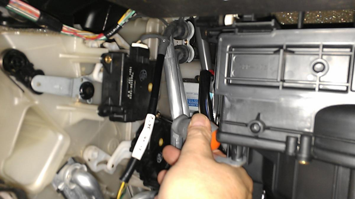 Service Manual How To Replace A 2008 Lexus Ls Blower