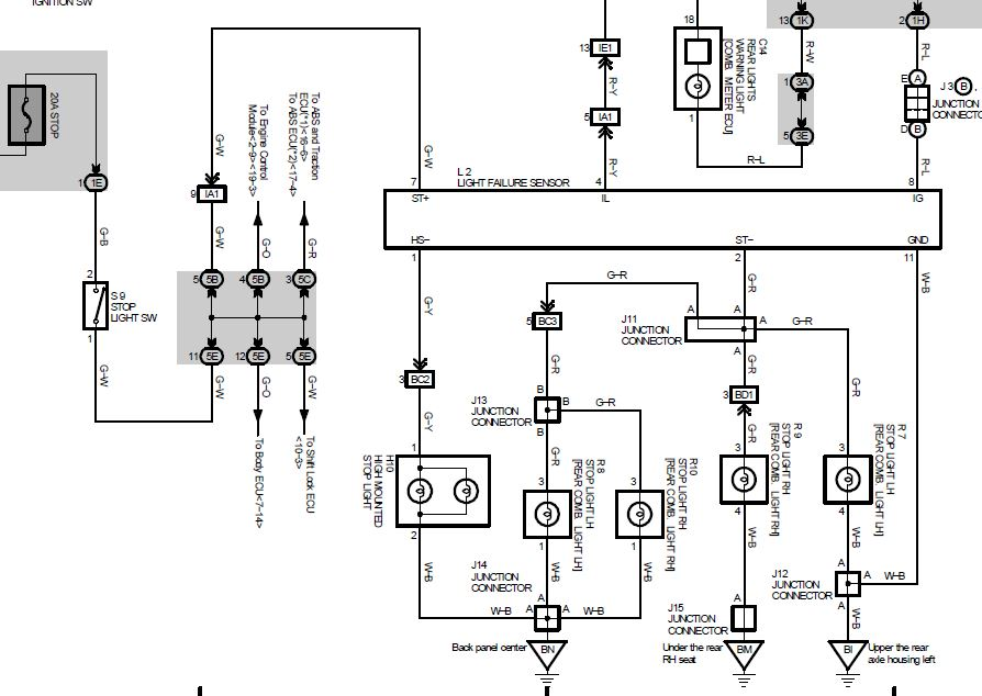rx 300 dome light wiring diagram