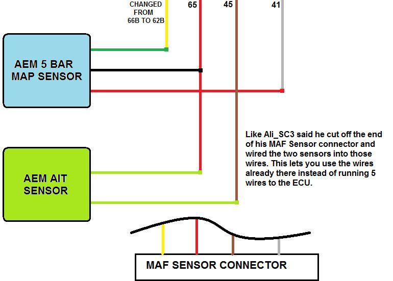 Aem 3 5 Map Sensor Wiring Wiring Diagram