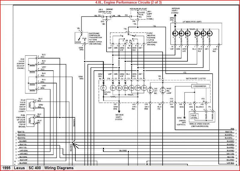 Lexus Starter Wiring Diagram Schematic Diagram Electronic