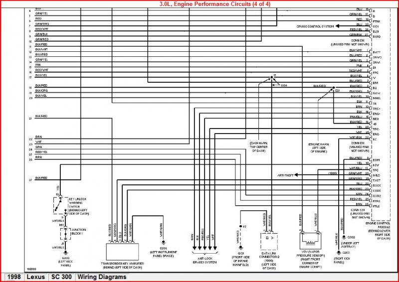 Wiring Diagram Lexus Gs430 Wiring Diagram