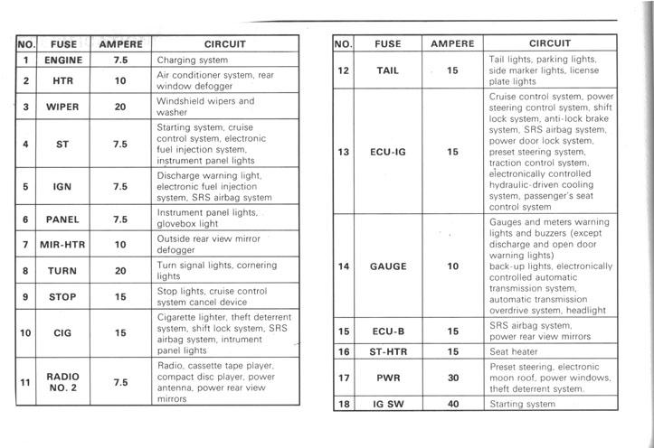 Wiring Diagram 1993 Lexus Ls400 - Wwwcaseistore \u2022