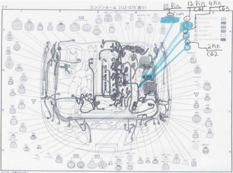 Please help with easy question 1JZ wiring - ClubLexus - Lexus