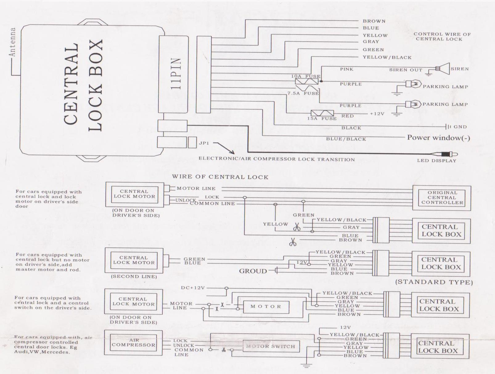 vw polo 9n central locking wiring diagram