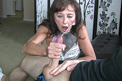 strict granny punishes masterbator
