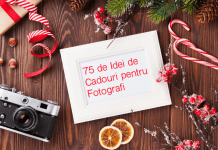 75 idei de cadouri pentru fotografi