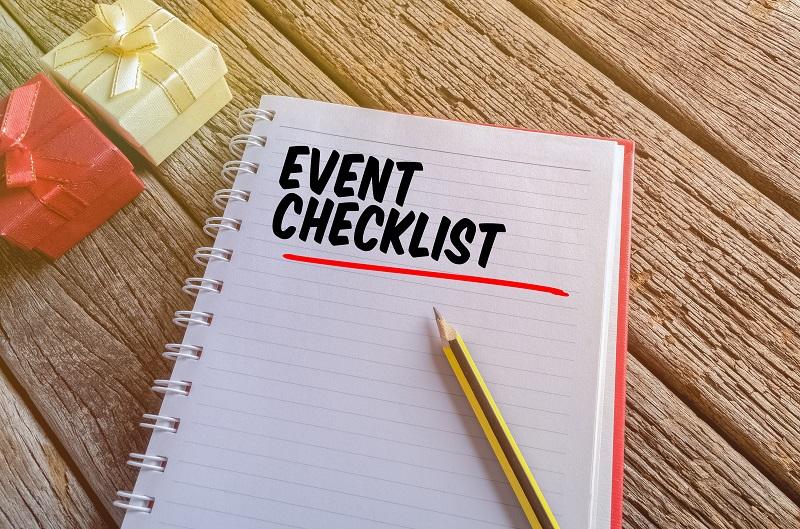 Creating an Event Checklist \u2014 Club Venetian