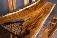 Holz Ausbessern Epoxidharz. morsches holz mit epoxidharz