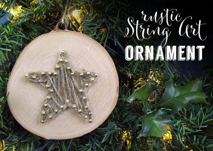 how to make christmas ornament