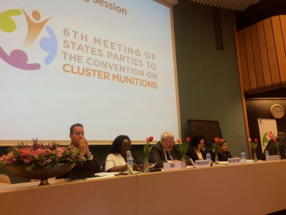 6MSP team Netherlands convention on cluster munitions