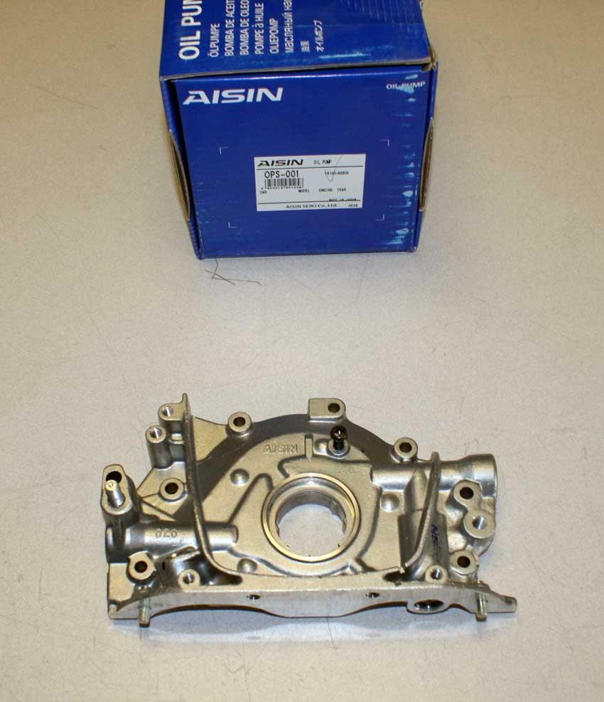 service manual 1995 suzuki sidekick oil pump install