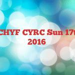 PDSC/CHYF CYRC Sun 17th April 2016