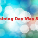 Training Day May 8th