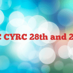 CSC CYRC 28th and 29th