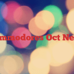 Commodores Oct News