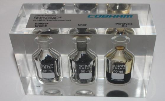 Encapsulated liquids for Cobham Exhibition Display
