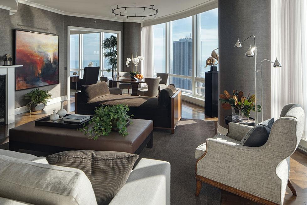 High Rise Apartment Interior Design Chicago Il Cme Interiors