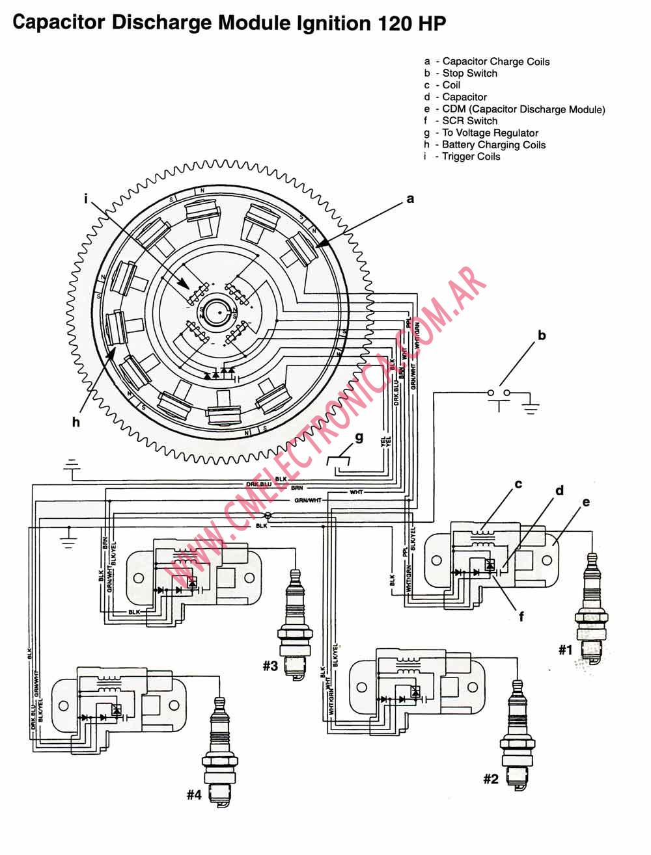 chrysler outboard Diagrama del motor