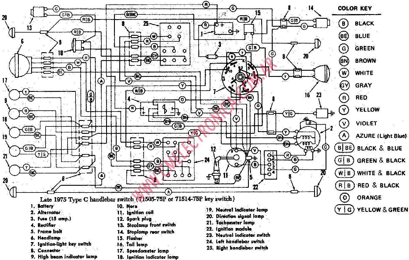 1992 harley fxr wiring diagram